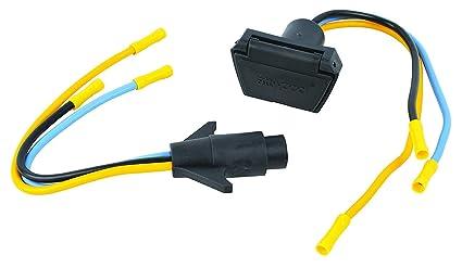 attwood 7622-7 3-Wire 12V/24V Trolling Motor Connector, 10 Gauge on