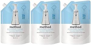 Method Foaming Hand Soap Refill, Sweet Water, 28 Fl Oz (Pack of 3)