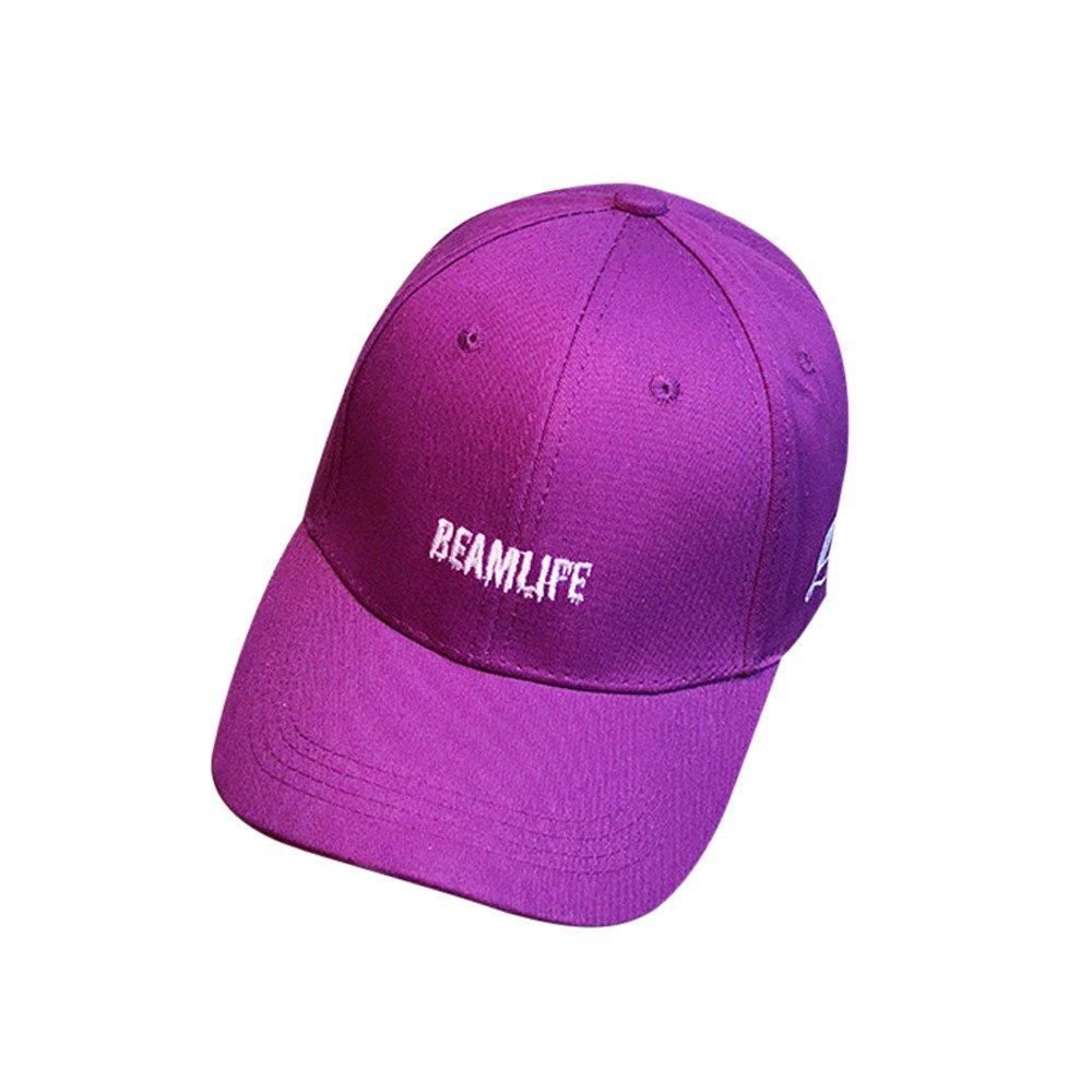 Ocio Gorra de Béisbol,PANPANY Vaquero Color Sólido Ajustable del ...