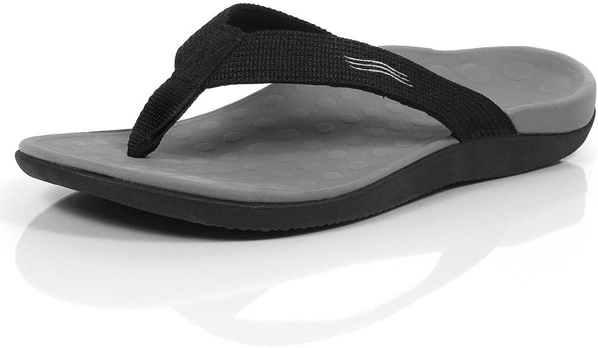 Unisex Orthaheel Sandals Black