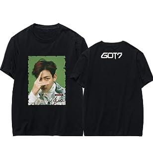 JUNG KOOK Kpop GOT7 Album Signature Shirts Jackson Mark Bambam T-Shirt Tee
