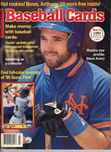 Baseball Cards Magazine March 1990 Howard Johnson
