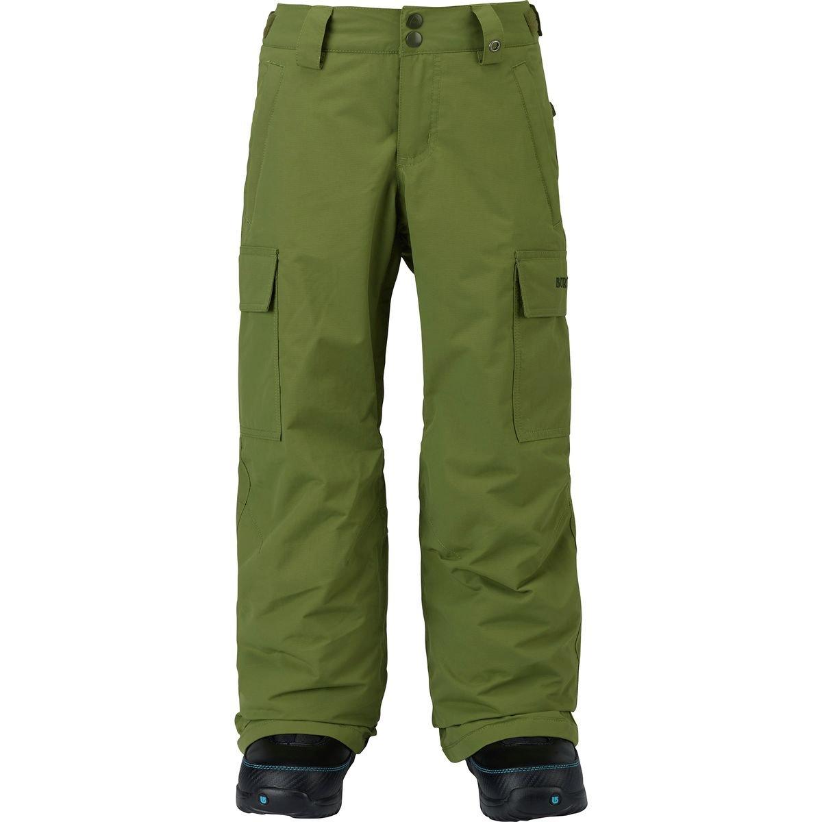 Burton Boys Exile Cargo Pants, Olive Branch, X-Large
