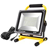 ustellar 4500lm 50w led work light 400w equivalent 2 brightness levels waterproof
