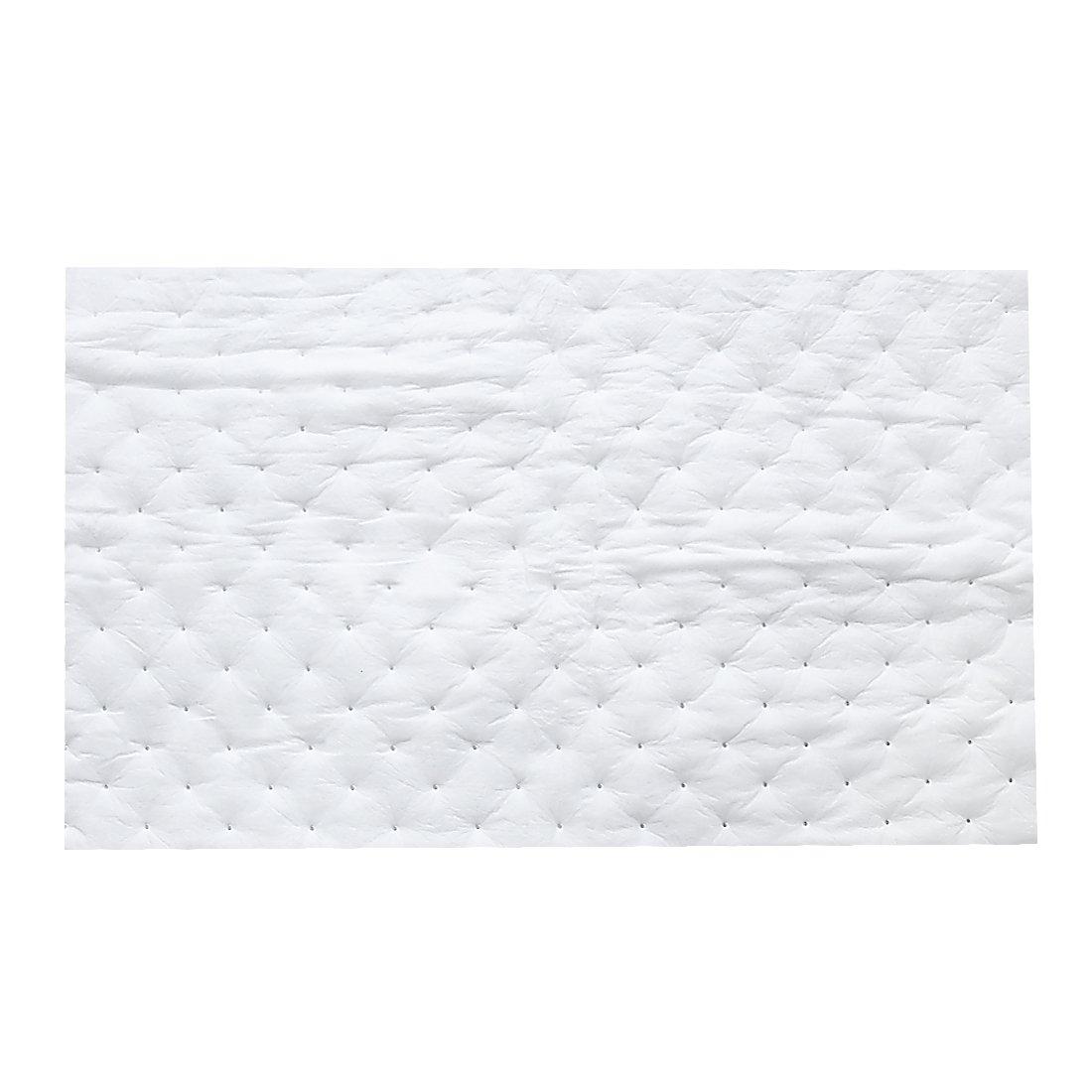 uxcell White Car Heat Insulation Self Adhesive Mat Sound Proof Mat 80 x 50CM