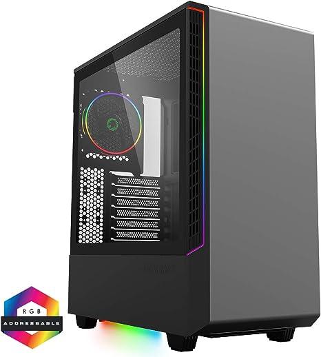 GameMax - Carcasa para PC de Torre Media ARGB, E-ATX, 3 Pines Aura ...