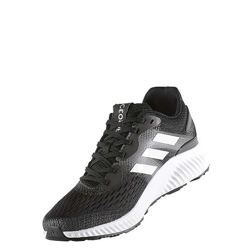 buy popular ac9fd 8dd0f adidas Mens Aerobounce M Running Shoes, Black (Black-(NegbasFtwbla