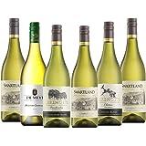 【高コスパ&風味しっかりの辛口を飲み比べ】南アフリカ 白ワイン4品種飲み比べ6本セット(白750mlx6) [南アフリカ/Amazon.co.jp限定/winery direct]