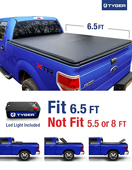 Tyger Auto Tg Bcf Tri Fold Truck Bed Tonneau Cover   Ford