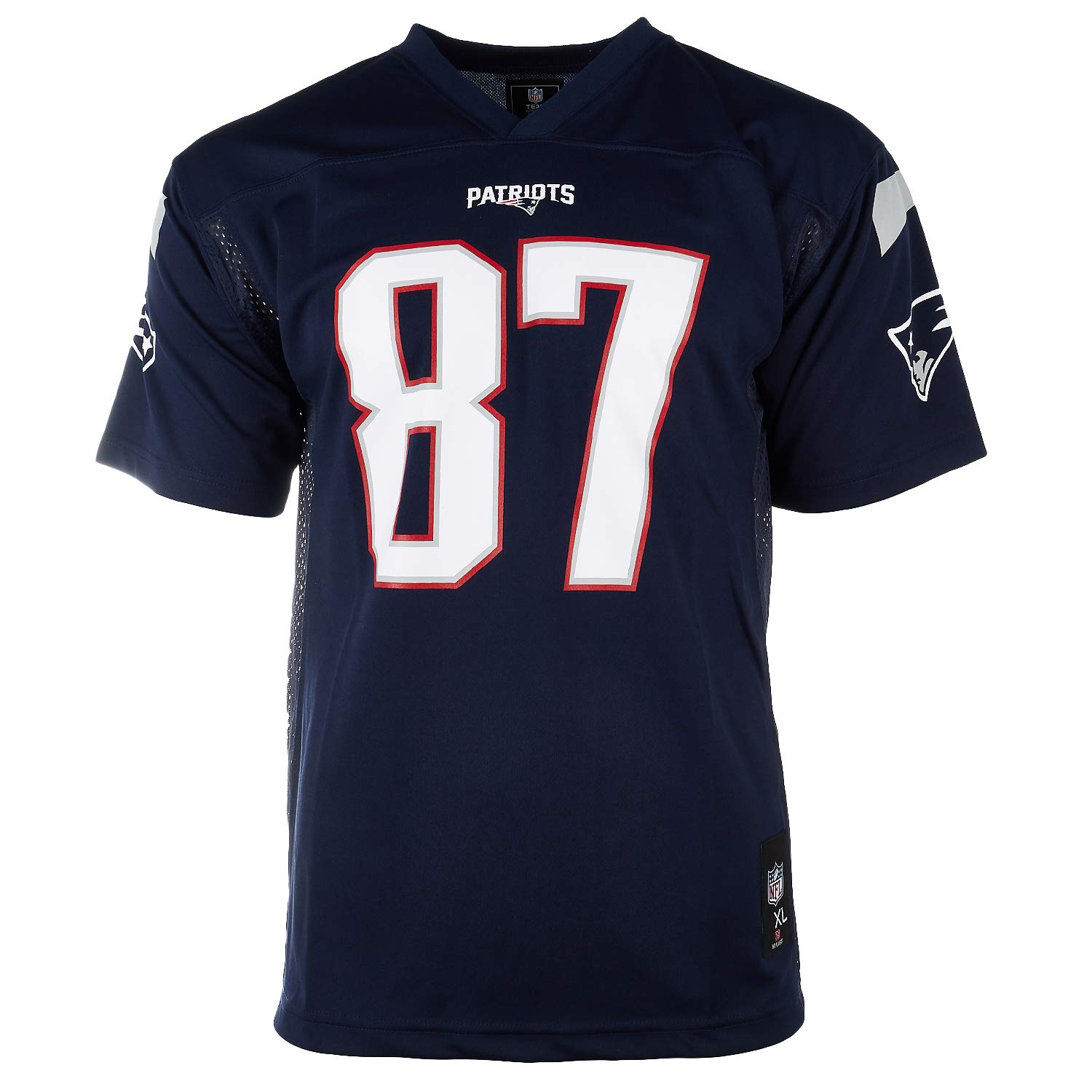 525f8bbac Amazon.com : Outerstuff Rob Gronkowski New England Patriots NFL Youth Navy  Home Mid-Tier Jersey : Sports & Outdoors