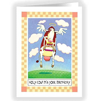 Amazon holy cow its your birthday single birthday cards holy cow its your birthday single birthday cards 5x7 birthday card bookmarktalkfo Images