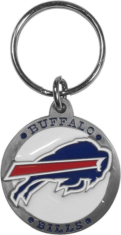 Blue Siskiyou NFL Buffalo Bills Lanyard Key Chain