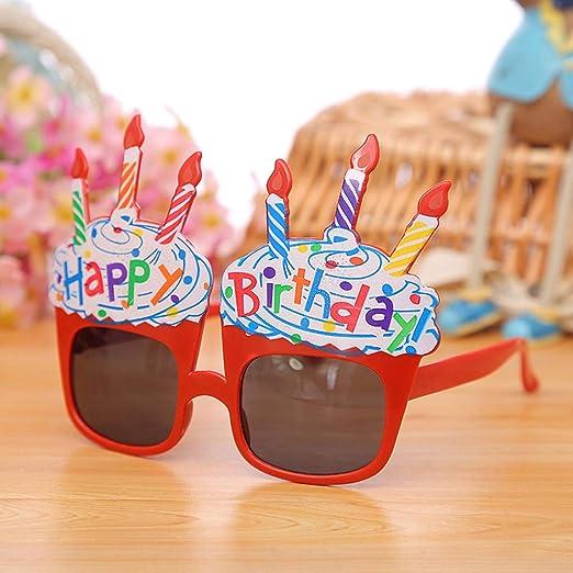 Lukame✯ Nuevas Gafas de Sol de Feliz Cumpleaños Gafas de ...