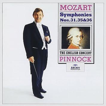 モーツァルト:交響曲第31番「パリ」,第35番「ハフナー」,第36番「リンツ」