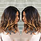 TopFeeling Short Lace Front Wigs Human Hair Bob Wigs Brazilian Body Wave Ombre Highlight Color Short Wigs For Black Women