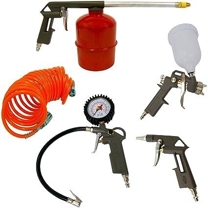 Black & Decker - Kit aire 5 pzs. para compresor (Pistolas de pintar,