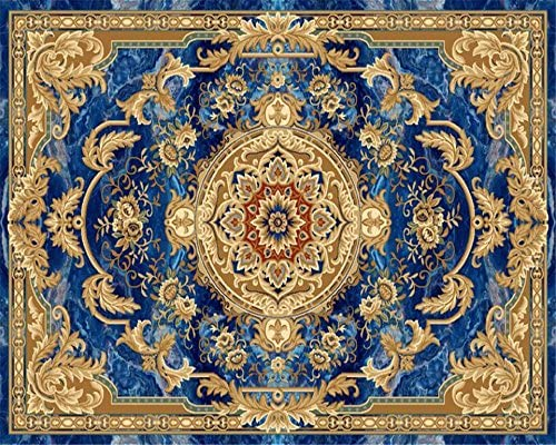 Wapel European Style Marble Ceiling Carpet Pattern Floor Painting 3d Wallpaper Home Decoration Zenith Decorative Wallpaper Silk Cloth 180x130cm Amazon Com