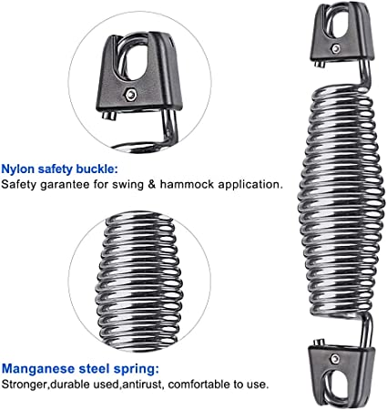 """2 Porch SWING SPRINGS,8.25/"""" Quality = SAFETY /& COMFORT Heavy Duty"""