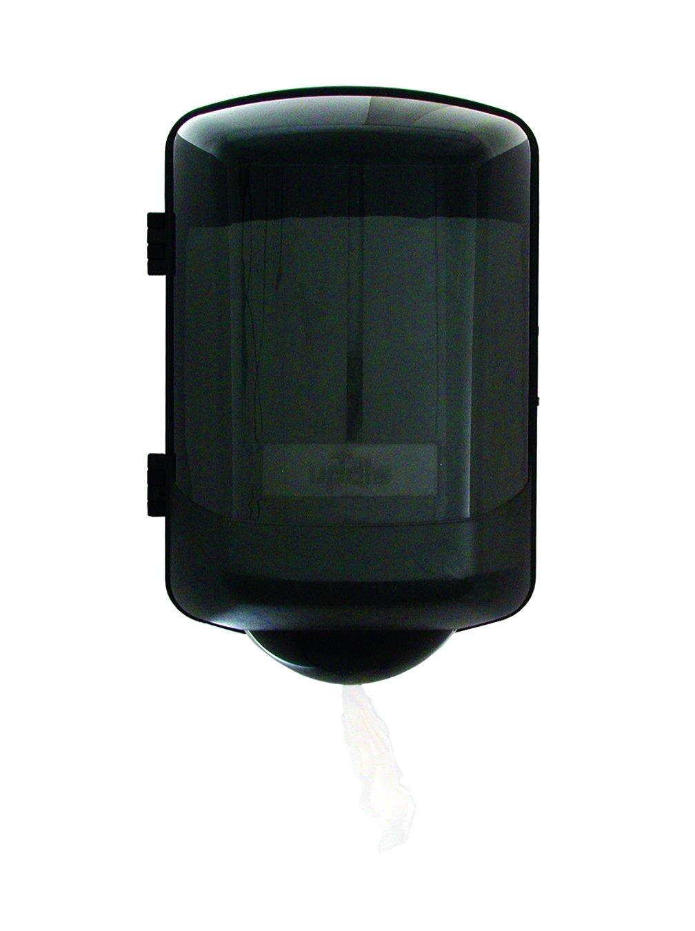 Update International (TD-CP) 9'' x 16'' Plastic Center-Pull Paper Towel Dispenser,Silver
