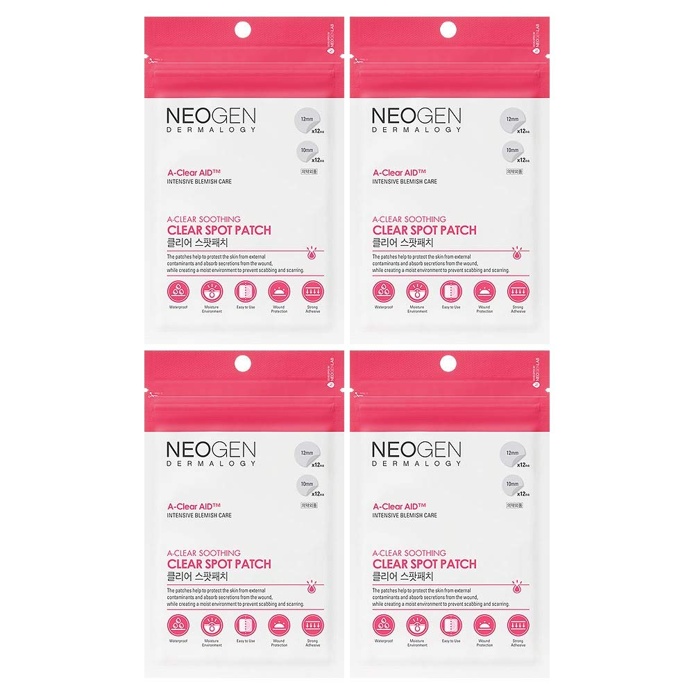 NEOGEN DERMALOGY A-CLEAR SOOTHING SPOT PATCH 24 COUNT (4 PACK) by NEOGEN DERMALOGY