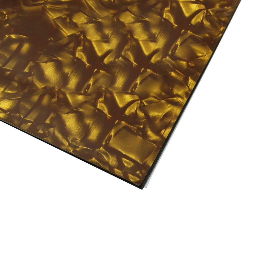 RETYLY 3Ply Chitarra Basso Pickguard Perla di Bronzo Materiale Iniziale Piastra di Graffio Iniziale 435x290mm