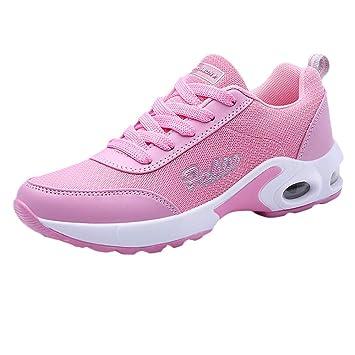 ZARLLE_Botas Zapatillas Calzado Aire Libre y Deportes Plataforma para Mujer con Cordones,ZARLLE Zapatos Gym