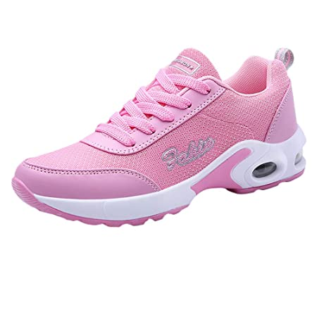 ZARLLE_Botas Zapatillas Calzado Aire Libre y Deportes Plataforma para Mujer con Cordones,ZARLLE Zapatos Gym Running Verano Primavera otoño: Amazon.es: ...