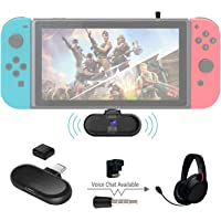 Gulikit Route+ Pro Support in-Game Voice Chat Mini USB C Wireless Bluetooth Transmitter
