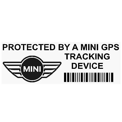 5 x ppminigpsblk GPS negro dispositivo de seguimiento de seguridad ventana pegatinas 87 x 30 mm-car, Van alarma Tracker