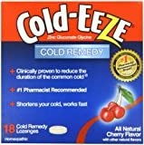 Cold-Eeze Cold Eeze, Cold Remedy, All Natural Cherry Flavor, 18 Lozenges - 1 Pack
