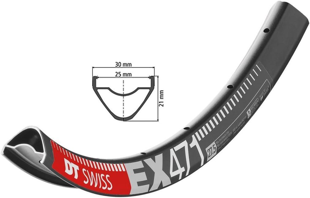 "DT Swiss XM 481 29/"" Tubeless-Ready Disc Rim 32h Black Squorx Nipples Rim Washers"