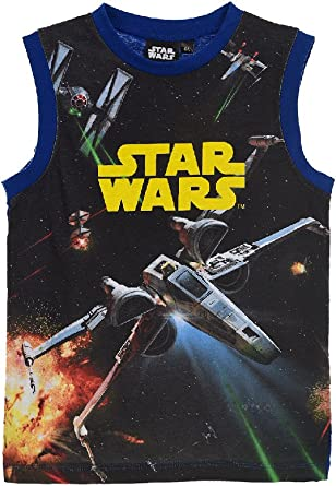 Star Wars - Camiseta de tirantes para niño