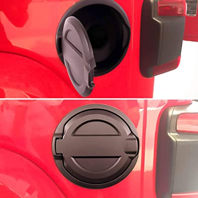 Gas Cap Fuel Door Gas Tank Cover Fuel Filler Door JL Gas Cap For 2020 2020 Jeep Wrangler JL JLU 2-Door 4-Door: Automotive