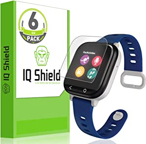 IQ Shield Screen Protector Compatible with Verizon GizmoWatch (6-Pack)(Full Coverage) Anti-Bubble Clear Film