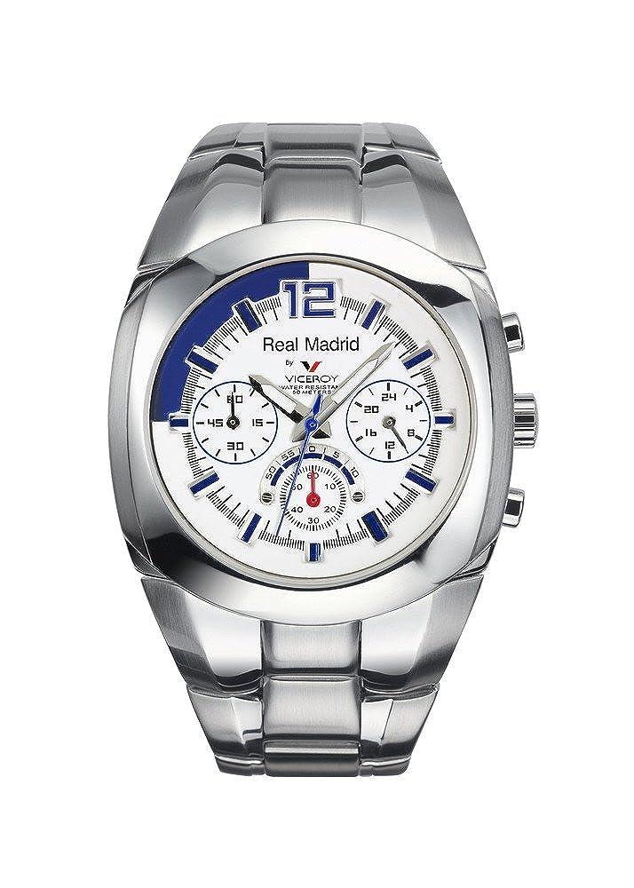 RELOJ VICEROY CABALLERO ACERO REAL MADRID REF:432821-05: Amazon.es: Relojes