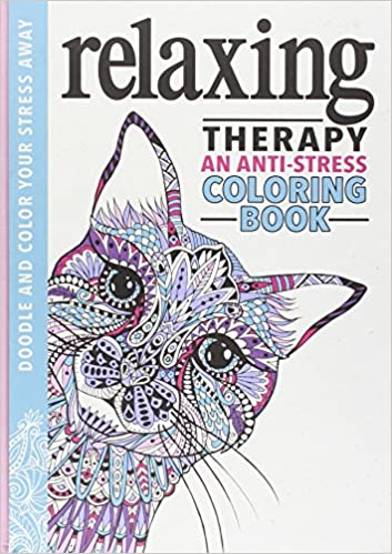 Relaxing Therapy An Anti Stress Coloring Book Running Press 9780762461035 Amazon Books