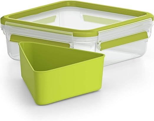 Emsa Clip&Go - Recipiente hermético de plástico para Sandwich con ...