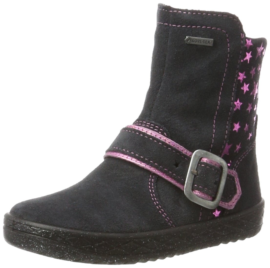 Superfit Mercury, Bottes Bottes de Neige Fille, Neige Bleu Grau (Charcoal Mercury, Kombi) e1bed77 - automaticcouplings.space