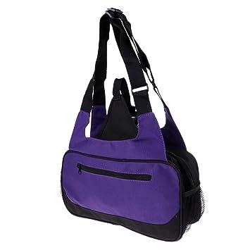 8c299d44129b MagiDeal Yoga Mat Carrying Bag - Canvas Shoulder Pack - Carry Exercise