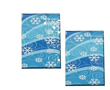 Amazon.com: 4 Docena de (48) Invierno Copo De Nieve Diseño ...
