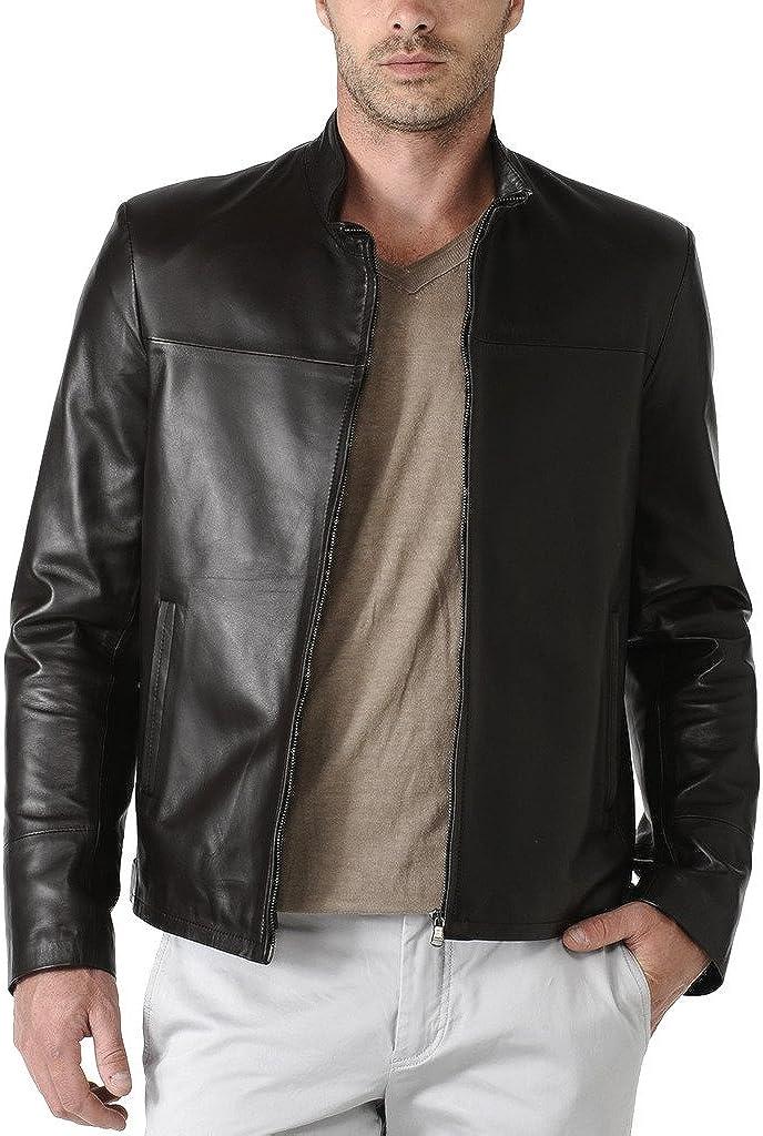 Kingdom Leather Mens Cow Leather Jacket KC006