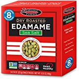 Seapoint Farms Dry Roasted Edamame, Sea Salt, 6.35 Ounce (Pack of 12)