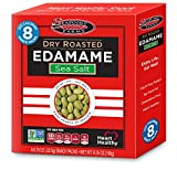 Seapoint Farms Dry Roasted Edamame, Light Salted, 0.79 Oz, 8 Count