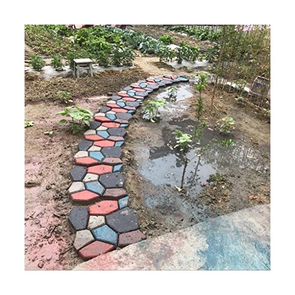 Yihaifu-Fanno-DIY-Pavimentazione-Muffa-Garden-Driveway-Nero-Mold-Strada-Stepping-Stone-Concrete-Paver