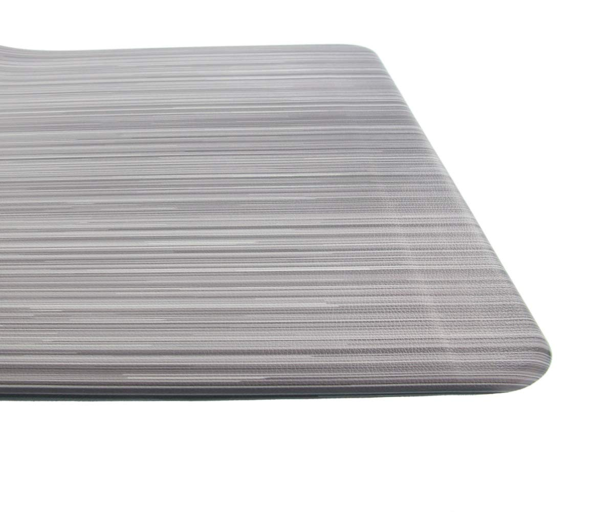 Kitchen Mat by Cuisinart - Chef Mat, Anti-Fatigue, Non-Slip, Pure Comfort Kitchen Rug - 20 x 39, Helps Eliminate Standing Back and Foot Pain, Comfy Floor Pad - Multi-Color Stripe by Cuisinart