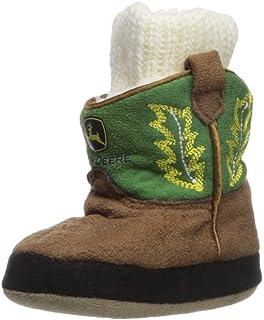 John Deere Baby Boys Infant Slippers