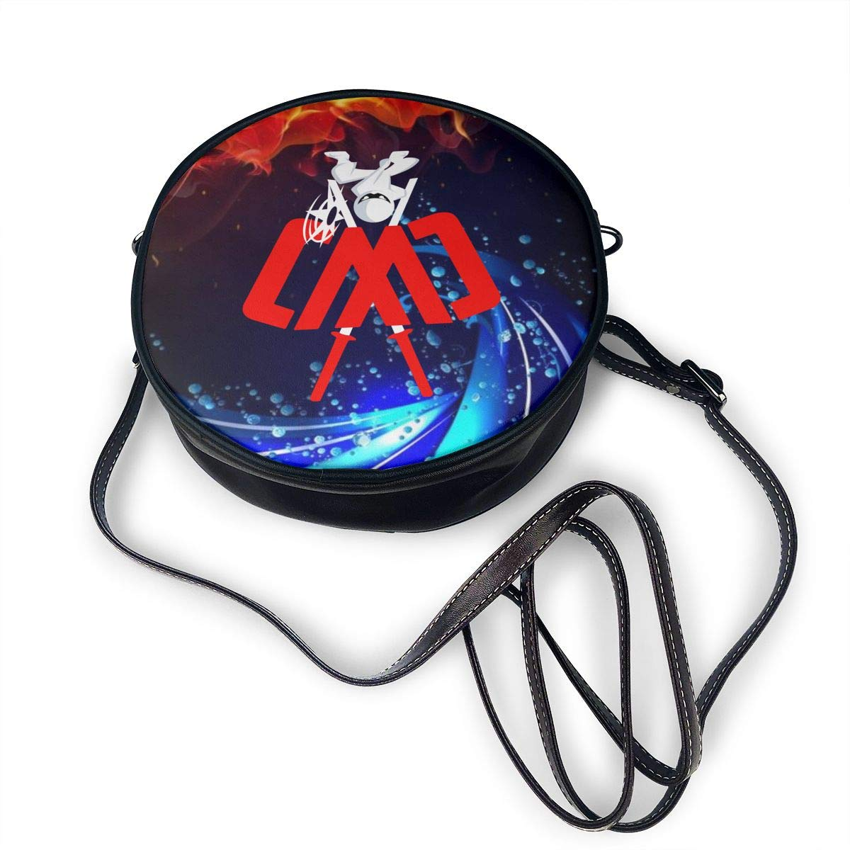 ATRXZ Cwc Chad Wild Clay Ninja logotyp merch crossbody axel butiksväskor för tonåringar kvinnor 6