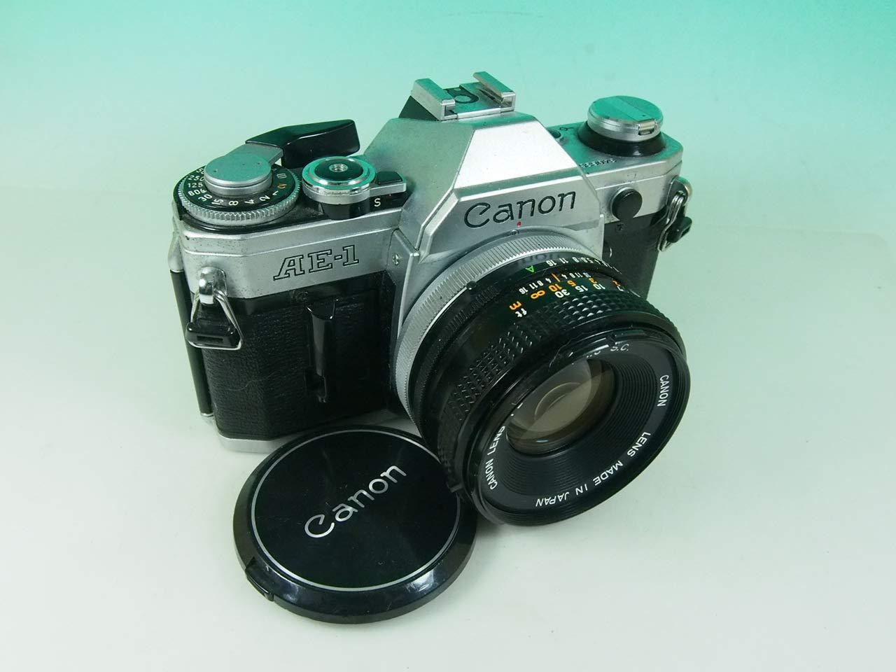 canon AE-1 FD50mm F1.8付き B007Y0CGXI