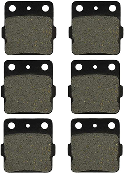 Front Rear Brakes Brake Pads For Honda TRX 400EX TRX400EX Sportrax Free Shipping