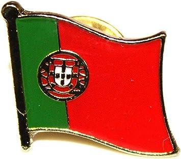 Shopiyal Broche con Insignia de la Bandera Nacional de Portugal esmaltada | Pin de Metal esmaltado: Amazon.es: Hogar